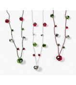 One Dozen Jingle Bell Bead Necklaces #4/5770