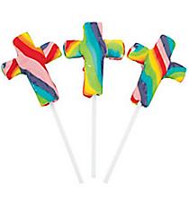 12 Cross-Shaped Swirl Pops #5/1345