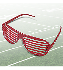 12 Burgundy Shutter Shading Sunglasses #50/134