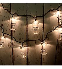 Mason Jar String Lights #50151