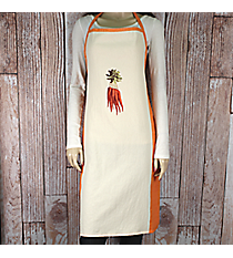 Carrots Flour Sack Apron and Berry Box Gift Set #50153-CARROTS