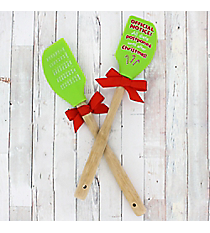 One 'Official Notice' Silicone Spatula #50243