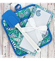 Coastal Cooking Pot Holder Gift Set #50748