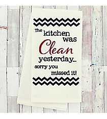 Sorry You Missed It Dish Towel #51813