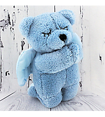 Blue Plush Prayer Bear #51875