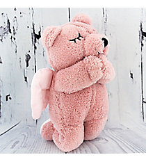 Pink Plush Prayer Bear #51882