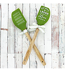 One 'Laugh Often' Silicone Spatula #52667
