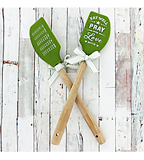 One 'Pray Often' Silicone Spatula #52674
