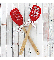One 'Bless The Food' Silicone Spatula #52681