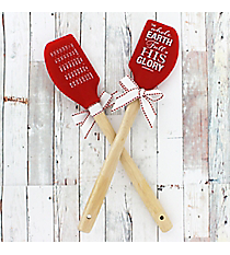 One Isaiah 6:3 'His Glory' Silicone Spatula #52698