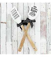 One 'Mr. & Mrs. Right' 1 Peter 1:22 Silicone Spatula #52742