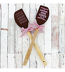 One 'Chocolate Is The Answer' Silicone Spatula #52759