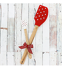 Red & White Polka Dot Kitchen Buddies #52834