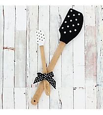 Black & White Polka Dot Kitchen Buddies #52865