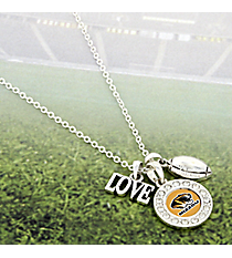 "18"" Crystal Accented University of Missouri Charm Necklace #53278-MISSOURI"