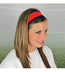 Navy and Red Pomchies Spirit Band-it Headband #5390