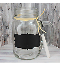 Chalkboard Frame 20 oz. Glass Mason Jar #55585