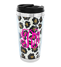 Leopard Stainless Steel Travel Tumbler #579inless Steel Travel Tumbler #579