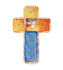 One Zechariah 4:6 Cross Bookmark #BMC068
