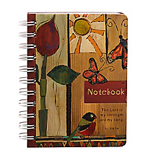 Psalm 118:14 Wirebound Notebook #NB030