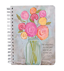 Psalm 55:22 Wirebound Notebook #NB032