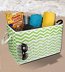 Orange Chevron Lime Chevron Trunk Organizer #60158-LIMEOrganizer #60158-ORANGE