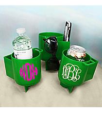 Green Beach Beverage Caddy #60536-GREEN