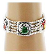 Christmas Theme Stretch Bracelet #AB6339-ASMX