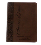 Amazing Grace Brown LuxLeather Flexcover Journal #JL127