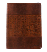 Names of Jesus Tan LuxLeather Flexcover Journal #JL131