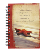 """I Know the Plans"" Large Wirebound Journal #JLF056"