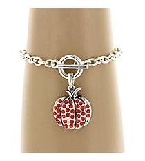 Pumpkin Toggle Bracelet #49460-PUMPKIN
