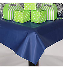 Blue Plastic Tablecloth #70/237