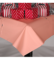 Pink Plastic Tablecloth #70/242