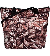 Quilted BNB Natural Camo Shoulder Bag #SNQ1515-BLACK