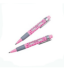 12 Pink Ribbon Message Pens #8/273
