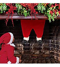 Santa Boots Fireplace Hanger #80866