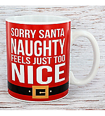 Sorry Santa 20 oz. Santa Coffee Mug #81372