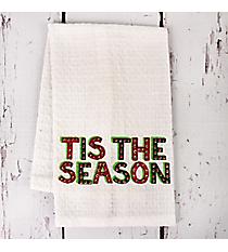 Tis The Season Finger Towel #81688