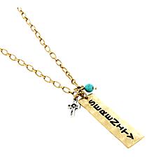 "22"" Goldtone ""Serenity"" Pendant Necklace #8367N-SERENITY"