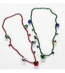 12 Jingle Bell Necklaces #85/2622