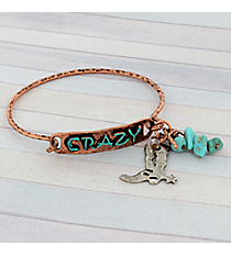 Coppertone Crazy Hook Bracelet #8908B-CRAZY