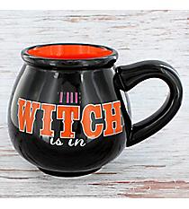 The Witch Is In 18 oz. Cauldron Mug #90256