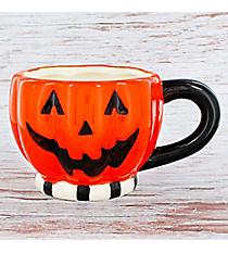 Pumpkin Face Ceramic Coffee Mug #90401