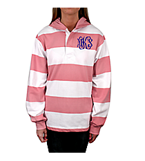 Charles River Hooded Rugby Pullover *Customizable!