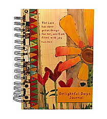 Psalm 126:3 Large Wirebound Journal #JLW019