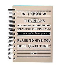 Jeremiah 29:11 Small Wirebound Journal #JSF037