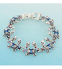 Blue Crab Magnetic Bracelet #AB7770-ASM