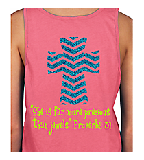Chevron Cross Basic Tank INS05 *Choose Your Colors
