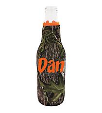 Mossy Oak with Orange Trim Bottle Cozy #BCOZ-MOO